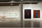 Installation view: works by (L to R) Jordan MacLachlan, Mat Brown, Susy Oliveira and Anders Oinonen