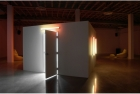 Installation view - mainspace gallery, door to second sound piece open