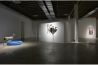 Installation view: works by (L to R) Brendan Fernandes, Emelie Chhangur and Reeta Saeed